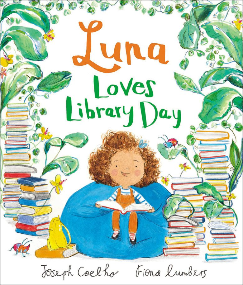 luna loves library day joseph coelho fiona lumbers