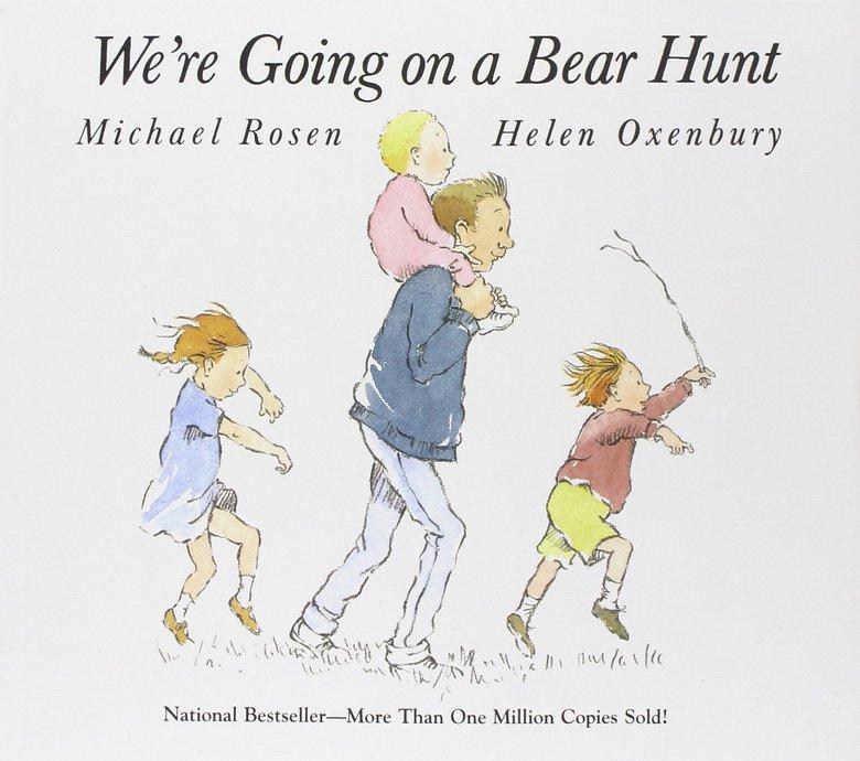 we're going on a bear hunt mark rosen
